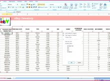 Product Inventory Spreadsheet Of 6 Inventory Spreadsheet Template Excel Product Tracking