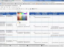 Project Management Spreadsheet for Project Management Excel Spreadsheets