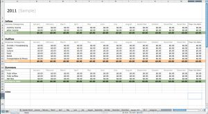 Simple Bookkeeping Spreadsheet or Free Excel Bookkeeping Templates — Excelxo