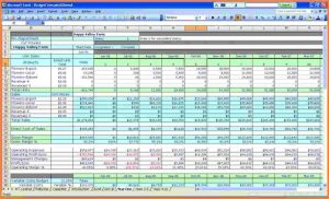 Spreadsheet for Accounting for 7 Small Business In E and Expenses Spreadsheet