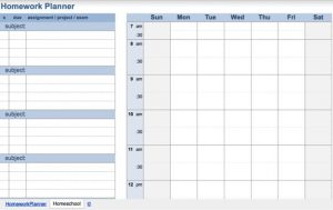 Spreadsheet Lesson Plans for High School for the Best Free Homeschool Printables and Templates for Parents