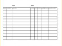 Linen Inventory Spreadsheet for Linen Inventory Control Sheet Laobing Kaisuo