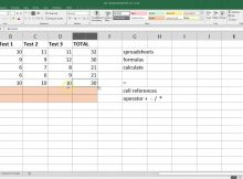 Microsoft Excel Sample Spreadsheets and Spreadsheet Basics Microsoft Excel