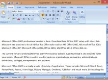 Microsoft Word Spreadsheet Download or Microsoft Fice 2007 Professional Edition Download