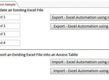 Convert Excel Spreadsheet to Access Database or Code Excel Automation Template Code Database